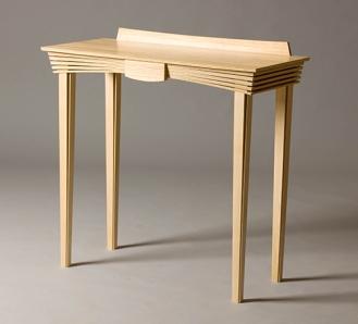 jointworks studio - ruby coast arts-maple hallway table