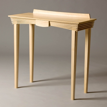 jointworks studio - ruby coast arts-maple hallway table